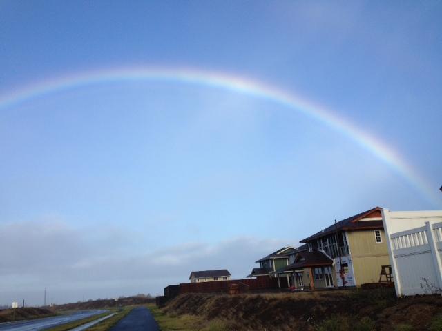 Walk rainbow