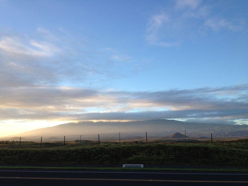 Mauna kea cloud