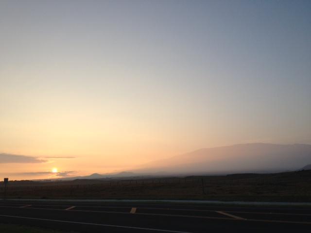 Sunrise oct 17  2013