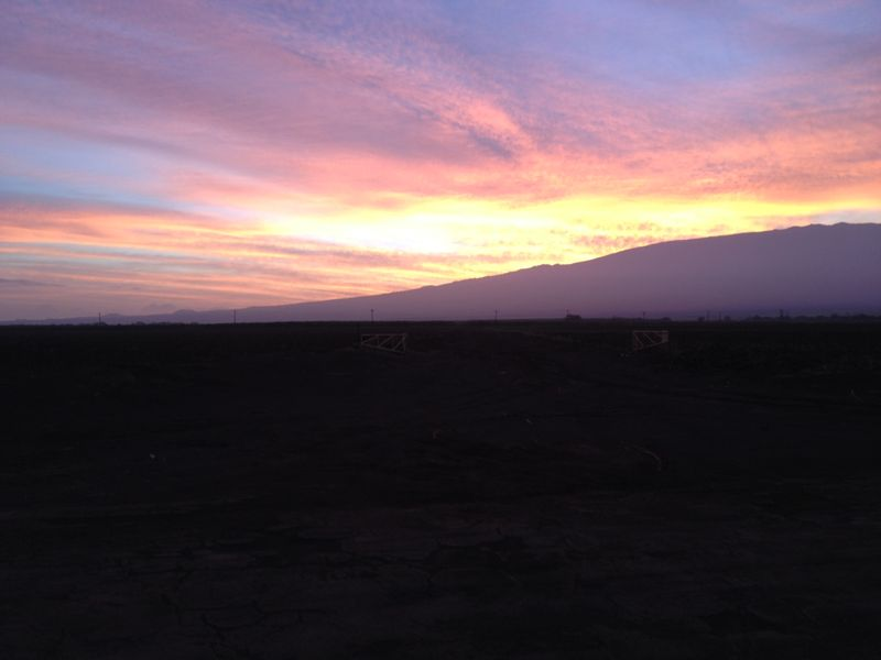 Sunrise on haleakala 112013