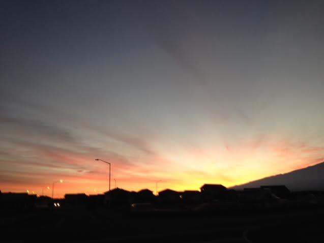 Sunrise 112013