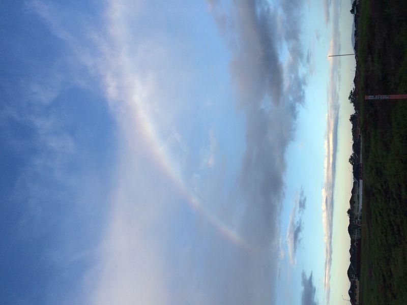 Walk dec 31 beginning rainbow
