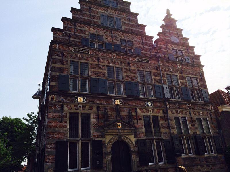 Naarden historic building